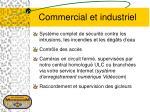 commercial et industriel