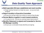 data quality team approach