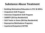 substance abuse treatment