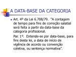 a data base da categoria1