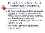 princ pios regentes da negocia o coletiva