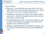 other common cpt hcpcs errors1