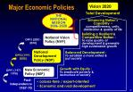 major economic policies