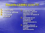 focarile 1998 qualita1