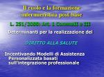il ruolo e la formazione infermieristica post base1