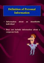 definition of personal information