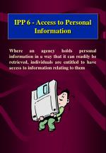 ipp 6 access to personal information