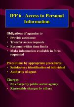 ipp 6 access to personal information1