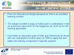noaa coastal services center needs assessment training on line learning module