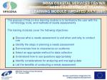noaa coastal services center needs assessment training on line learning module updated july 2007