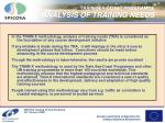 train sea coast programme analysis of training needs1