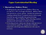 upper gastrointestinal bleeding7