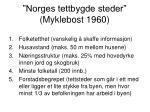 norges tettbygde steder myklebost 1960