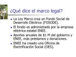 qu dice el marco legal