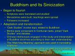 buddhism and its sinicization