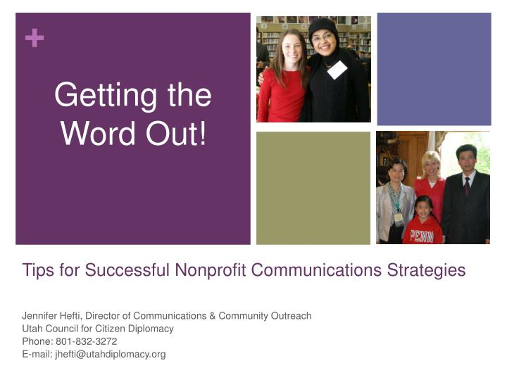 tips for successful nonprofit communications strategies n.