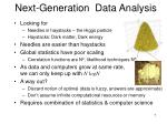 next generation data analysis