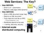 web services the key