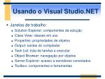 usando o visual studio net1
