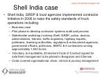 shell india case