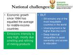 national challenges