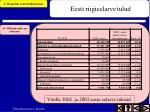 eesti riigieelarve tulud