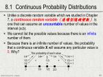 8 1 continuous probability distributions