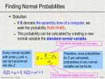 finding normal probabilities1