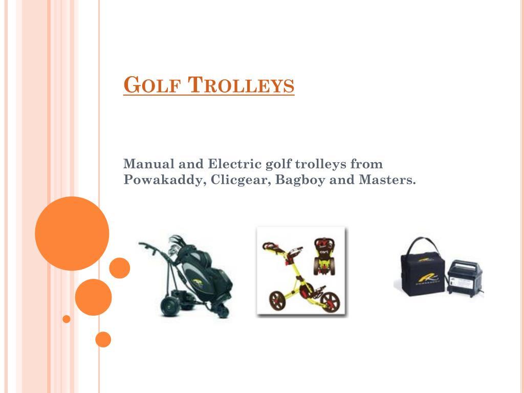 golf trolleys l.