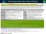 communication action plan for bonn conference