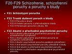 f20 f29 schizofrenie schizofrenn poruchy a poruchy s bludy1