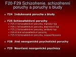 f20 f29 schizofrenie schizofrenn poruchy a poruchy s bludy2