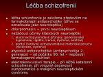 l ba schizofreni