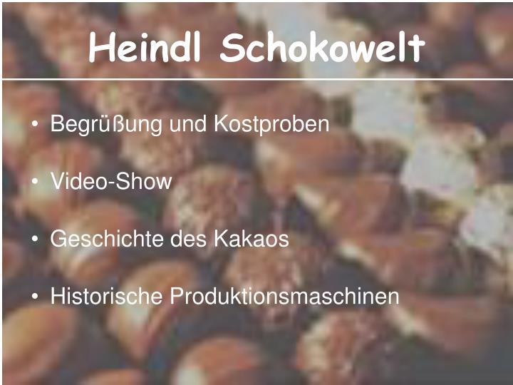 Heindl Schokowelt