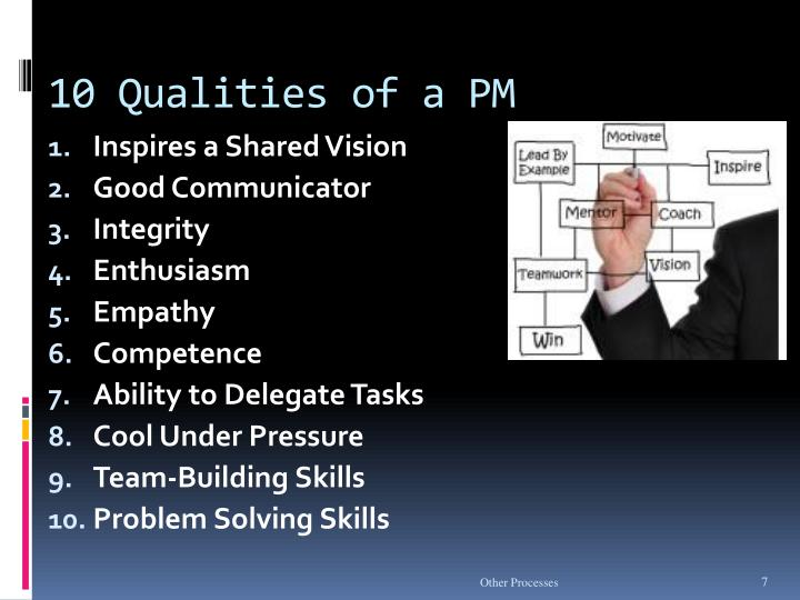 10 Qualities of a PM