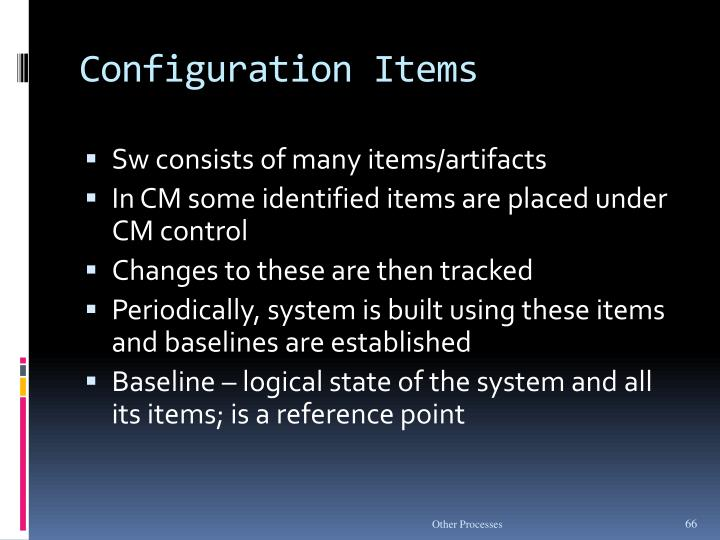 Configuration Items