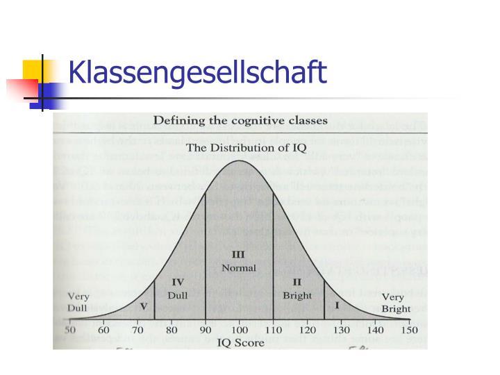 Klassengesellschaft