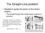 the straight line problem2