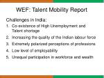 wef talent mobility report