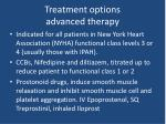 treatment options advanced therapy