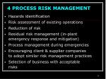 4 process risk management