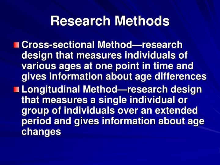 Research Methods