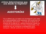auditor as
