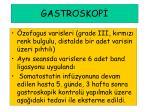 gastroskop