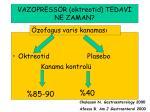 vazopress r oktreotid tedav ne zaman