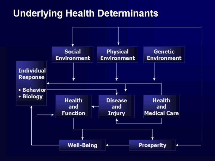Underlying health determinants