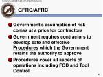 gfrc afrc1