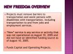 new freedom overview1