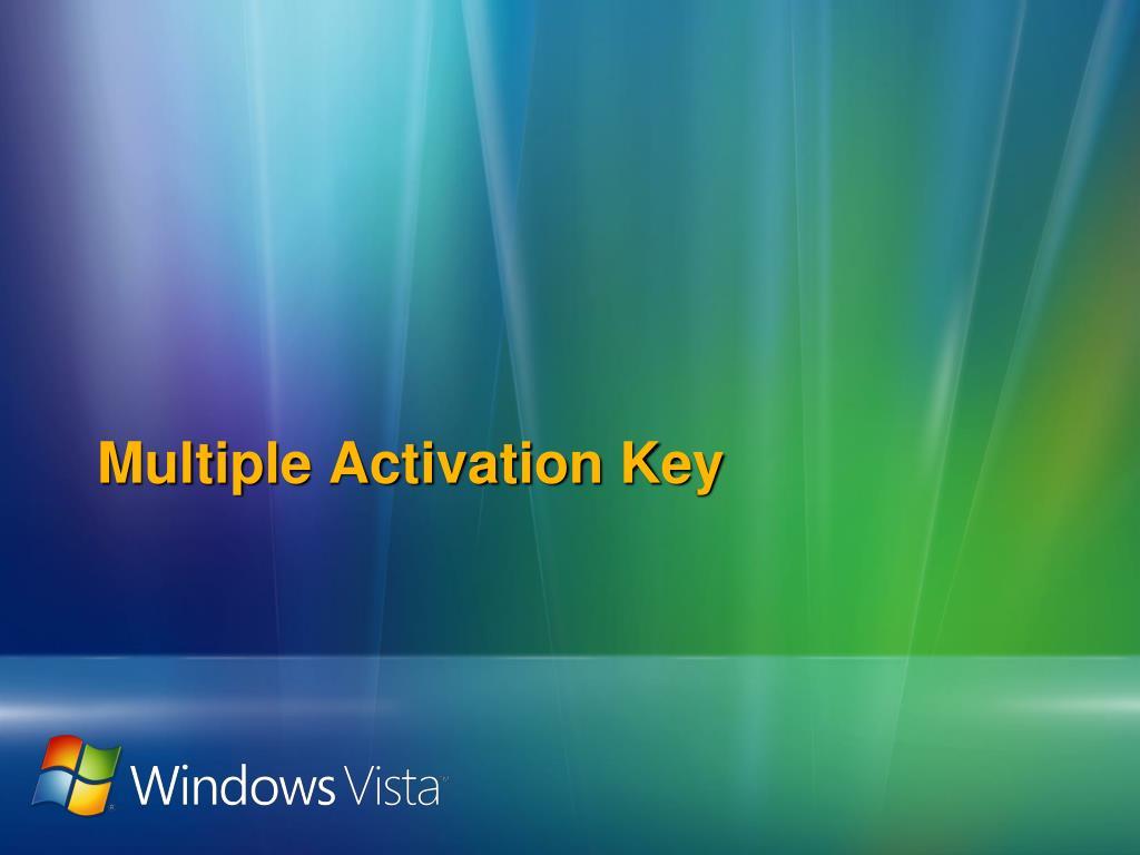 Multiple Activation Key