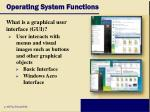 operating system functions10